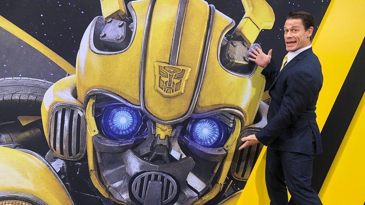 「江西男」約翰希南表示他在《大黃蜂》演出的角色其實有被他「調整」過首圖