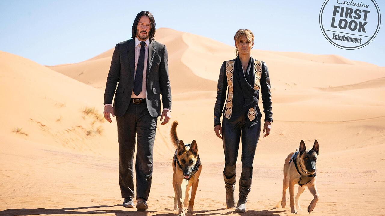 小心、你可能有更多機會惹怒基哥:《捍衛任務 3》全新劇照多了 2 隻狗!首圖