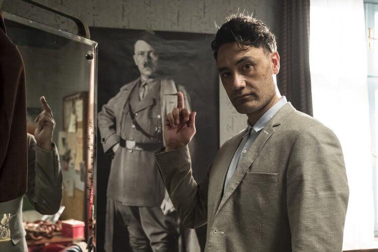 塔伊加維迪提在《喬喬兔》片中扮演「希特勒」。