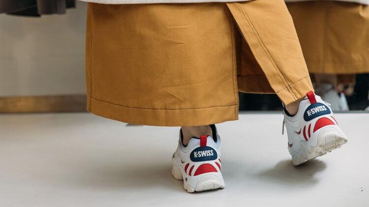 K-Swiss HS329 系列老爹鞋-黑嘉嘉