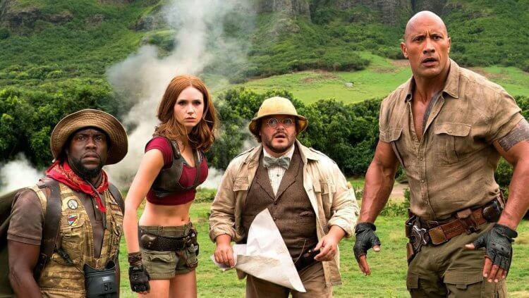 由巨石強森、凱文哈特等人主演的《野蠻遊戲:全面晉級》是《野蠻遊戲》系列的最新續集。