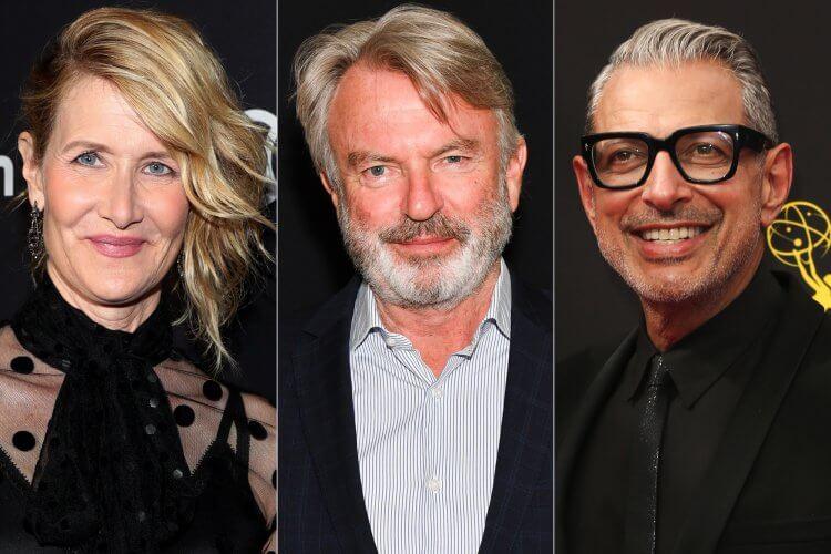 山姆尼爾 (Sam Neill) 、蘿拉鄧恩 (Laura Dern) 以及傑夫高布倫 (Jeff Goldblum) 皆會回歸 2021 年的《侏羅紀世界3》