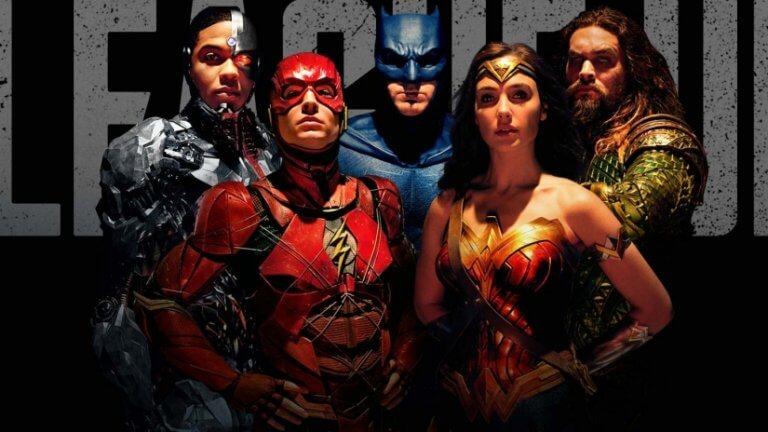 華納兄弟 2017 年的超級英雄電影:《正義聯盟》。