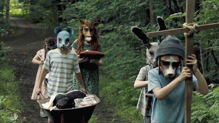 史蒂芬金恐怖小說改編電影,2019 年版《禁入墳場》劇照。