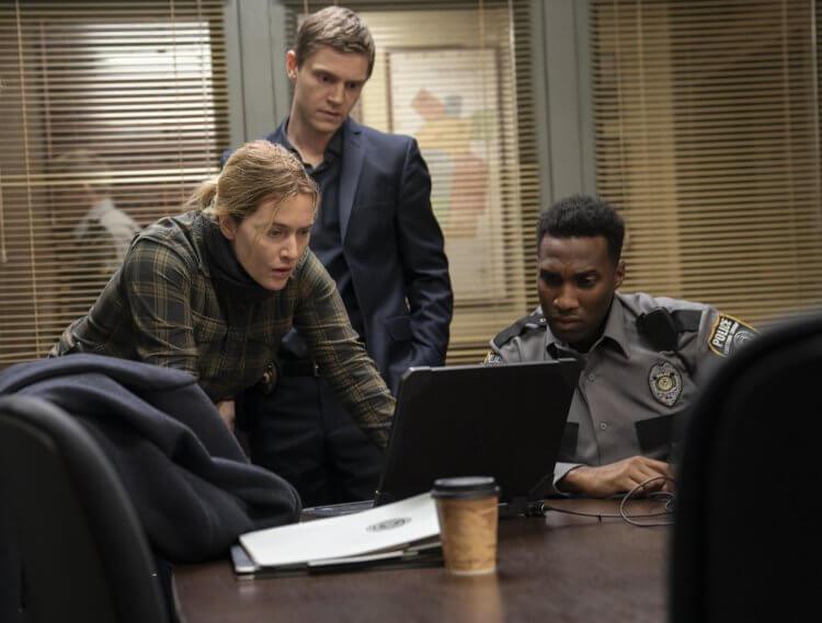 HBO 影集《東城奇案》凱特溫絲蕾、伊凡彼得斯。。