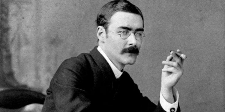 1907 年諾貝爾文學獎得主魯德亞德吉卜林。