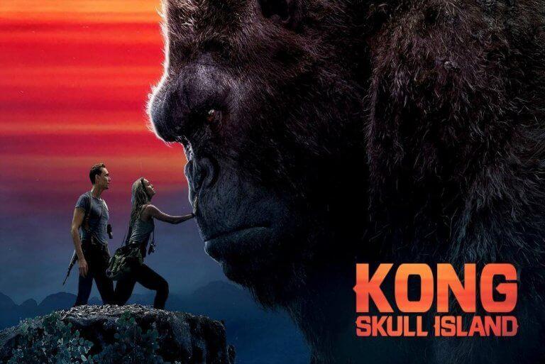 傳奇影業 2017 年電影《金剛:骷髏島》。