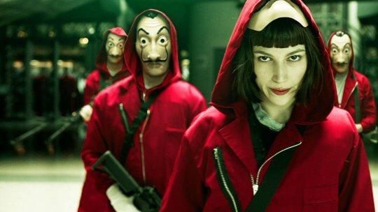 西班牙影集《紙房子》是Netflix 最受歡迎的非英語發音影集