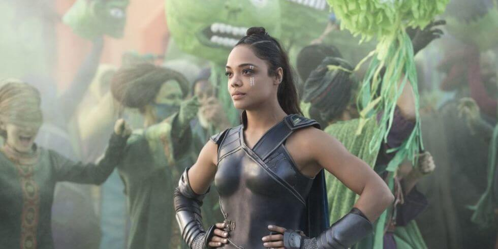 泰莎湯普森 在《 雷神索爾3 : 諸神黃昏 》飾演 : 女武神瓦爾基麗 。