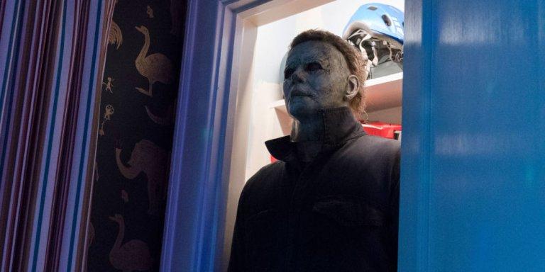 《月光光新慌慌》中的面具殺人魔:麥克邁爾斯。