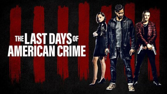 Netflix 驚悚動作電影《美國犯罪的末日》融合科幻、犯罪、驚悚動作等元素。