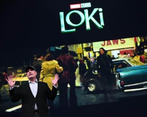 凱文費吉公布將在 Disney+ 串流平台推出的漫威影集《洛基》首張劇照。