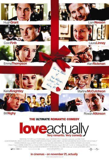 2003 年由英國導演理查寇蒂斯 (Richard Curtis) 編導的《愛是您·愛是我》聚集了眾多英國知名演員,卡司華麗。