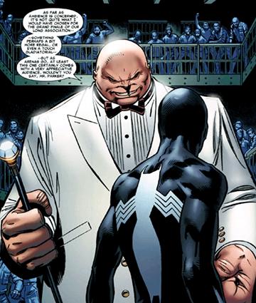 《 漫威夜魔俠 》 金霸王 暗示「他」可能會在 MCU 蜘蛛人 電影中登場?