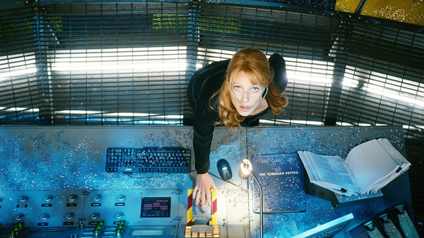 2008 年漫威工作室的超級英雄片《鋼鐵人》,圖為小辣椒。