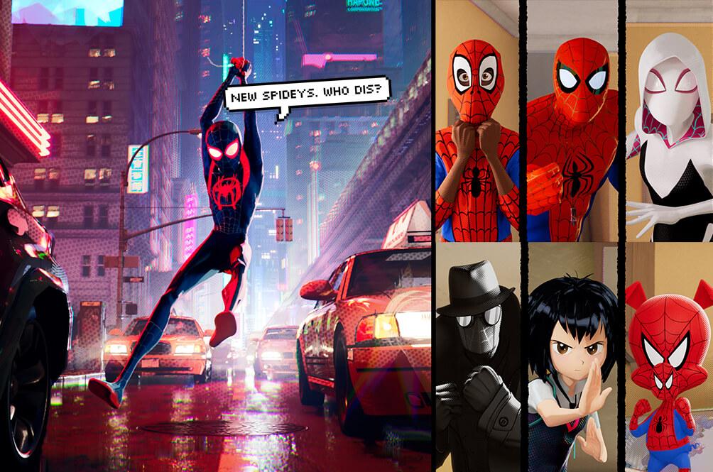 你以為動畫電影《蜘蛛人:新宇宙》裡面出現的蜘蛛人就是所有版本的蜘蛛人了嗎?並沒有!