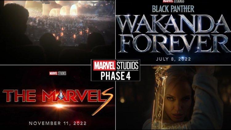 漫威第四階段預告片釋出:經典片段回顧,《永恆族》畫面曝光,《黑豹 2》與《驚奇隊長 2》片名與多部新片資訊公布!首圖