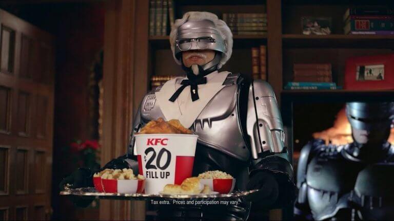 最狂肯德基爺爺!機器戰警接業配,COS 最強上校代言炸雞餐