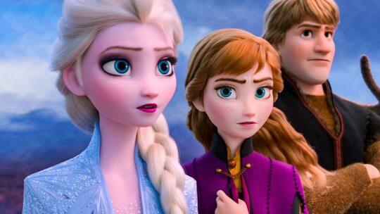 《冰雪奇緣 2》(Frozen 2) 劇照。