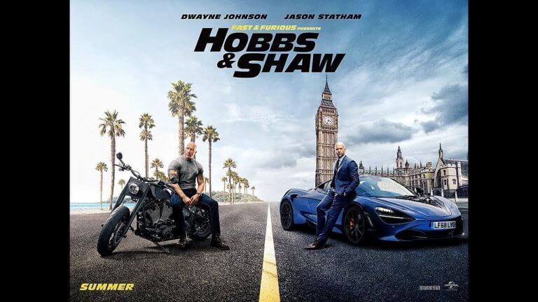 《玩命關頭:特別行動》(Hobbs & Shaw) 海報。