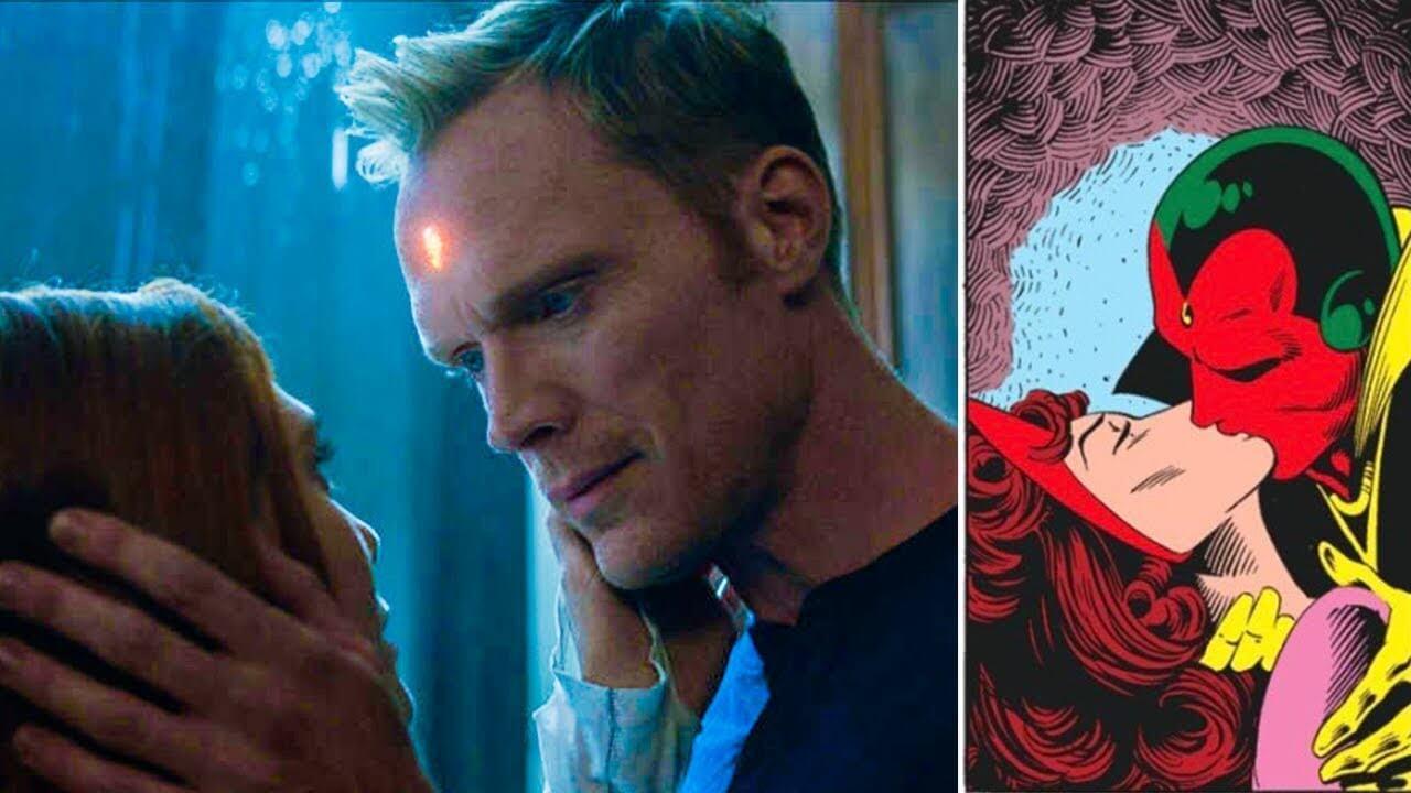 漫威超級英雄電影《復仇者聯盟 3:無限之戰》中以及原作漫畫中的緋紅女巫和幻視。