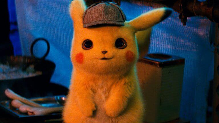 《名偵探皮卡丘》(Detective Pikachu) 劇照。