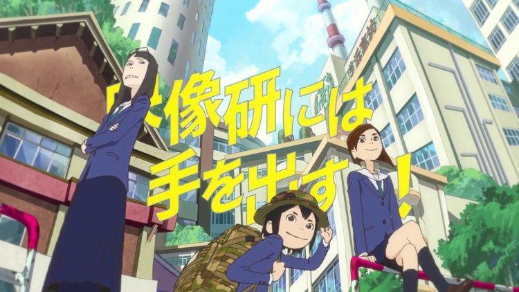 漫畫《別對映像研出手!》大熱,由湯淺政明監督領軍製作的動畫影集版也十分有人氣。