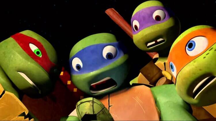 《忍者龜:變種世代》劇照。