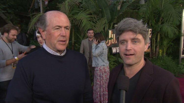 《叢林奇航》製片約翰戴維斯以及約翰福克斯。