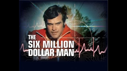 影集《The Six Million Dollar Man》