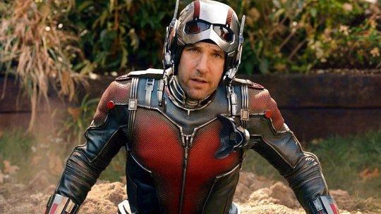 「蟻人」保羅路德 (Paul Rudd) 說服李奧納多狄卡皮歐 (Leonardo DiCaprio) 演出《鐵達尼號》