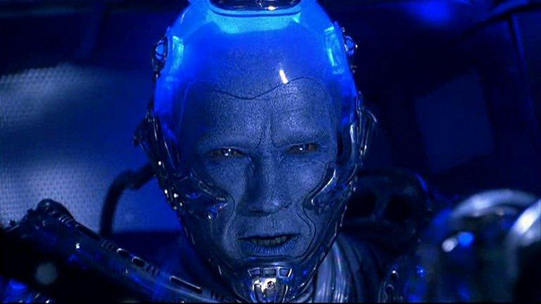 阿諾史瓦辛格 (Arnold Schwarzenegger) 演出《蝙蝠俠4:急凍人》(Batman & Robin) 的急凍人。