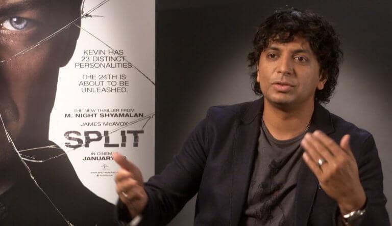 度過「驚心動魄」的 17 年後,終於以《分裂》再續這個系列旅程的奈沙馬蘭導演。