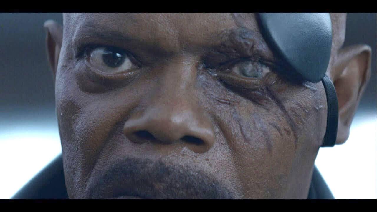 MDFK:你們將在《驚奇隊長》親眼見證神盾局長尼克福瑞左臉眼罩的祕密首圖