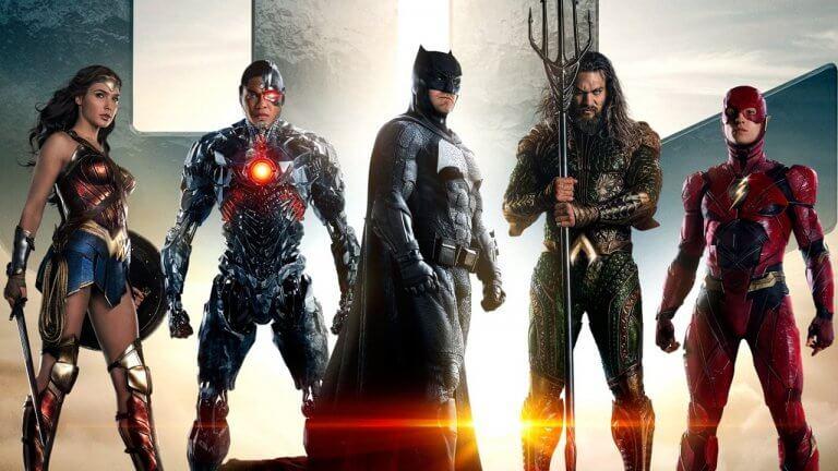 集結神力女超人、鋼骨、蝙蝠俠、超人、水行俠、閃電俠等 DC 英雄的集結電影《正義聯盟》。
