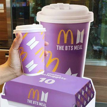 麥當勞 The BTS Meal。
