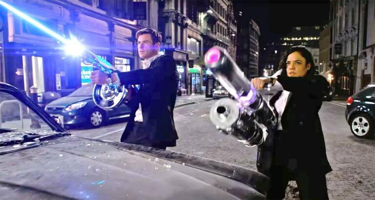 克里斯漢斯沃 (Chris hemsworth )與泰莎湯普森 (Tessa Thompson) 主演的最新《MIB星際戰警:跨國行動》劇照!