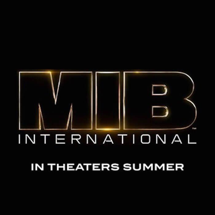 最新的 MIB 系列電影《星際戰警:國際 (暫)》(Men in Black: International) 。