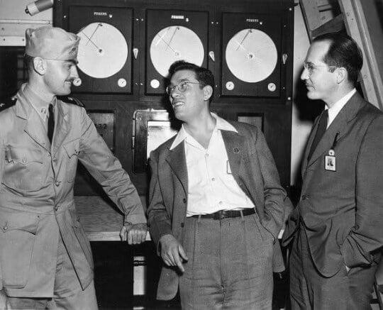 L. Sprague de Camp、艾希莫夫與海萊因。