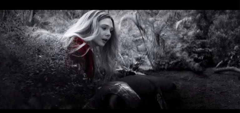 復仇者聯盟無限之戰中的緋紅女巫