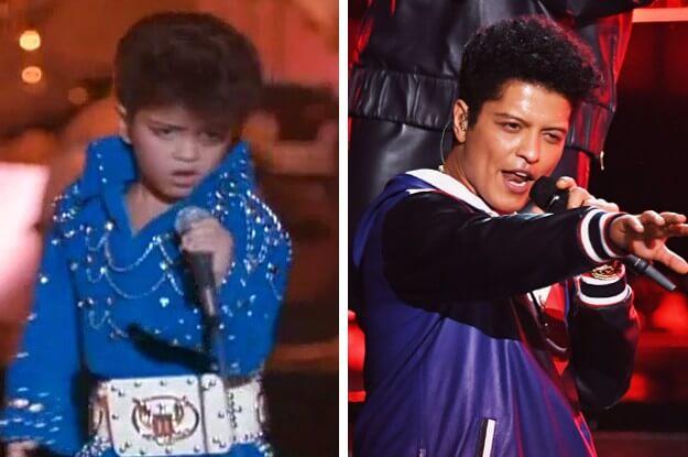 1992 年火星人布魯諾 (Bruno Mars) 在《今夜你寂寞嗎》(Honeymoon In Vegas) 中客串擔任小貓王