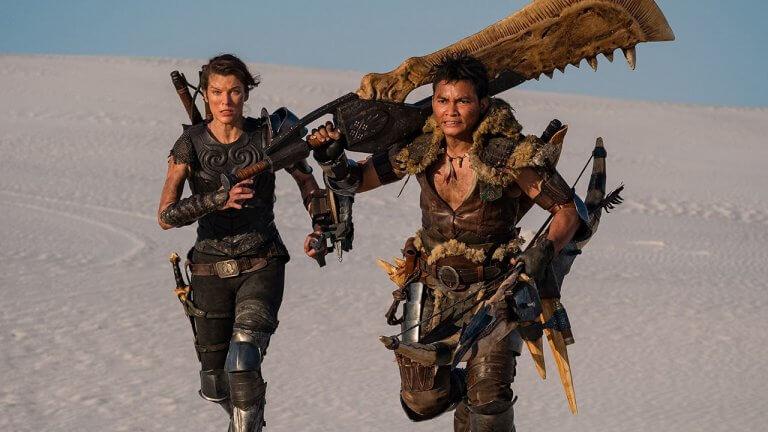 好萊塢《魔物獵人》新劇照驚現大龍顎、慘爪龍裝!大劍在手跟我走