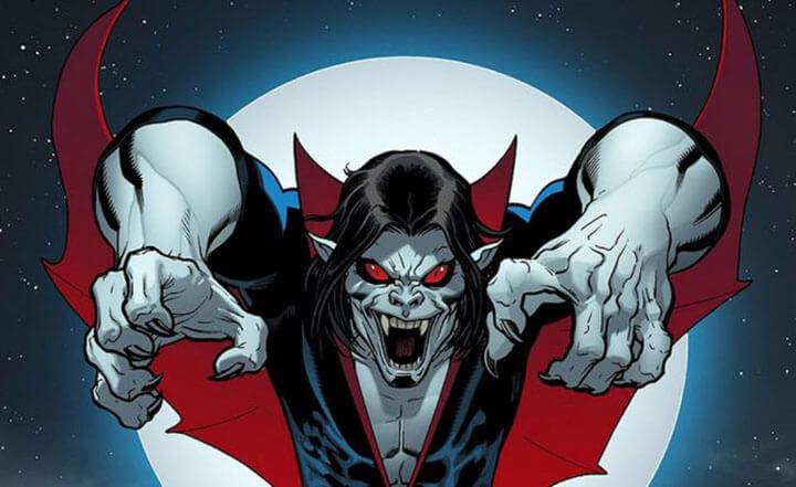 漫畫中的吸血鬼莫比亞斯。