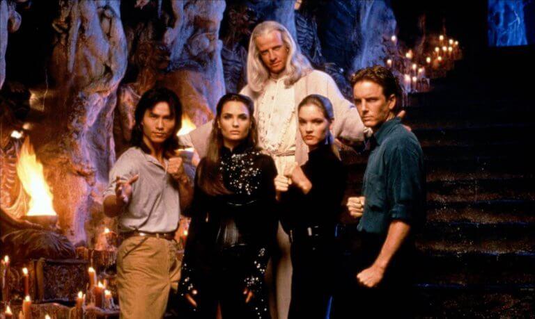 由保羅·W·S·安德森執導,改編經典電玩,在 1995 年推出的《魔宮帝國》電影劇照。
