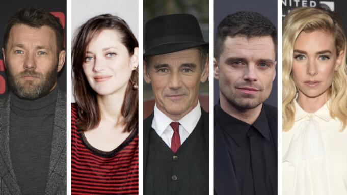 喬爾埃哲頓、瑪莉詠柯蒂亞、凡妮莎柯比、馬克勞倫斯,以及賽巴斯汀史坦等人將加入布拉迪科貝特新作《The Brutalist》。