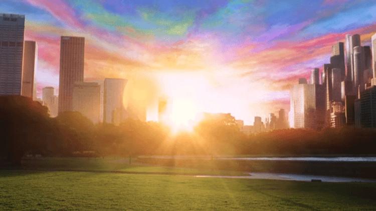 《駭客任務:最後戰役》結局的晨光