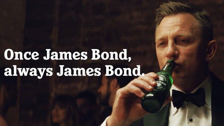 居家啤酒大戰!海尼根與《007:生死交戰》聯名推出限量罐,沒時間去死有時間茫死