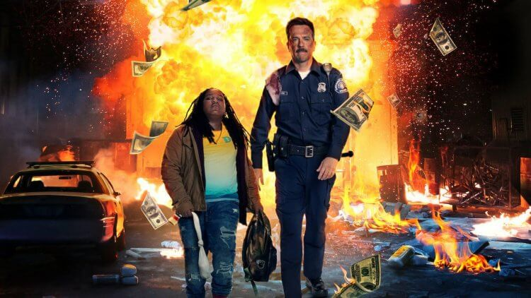 Netflix 原創喜劇電影《考菲與克林姆》。