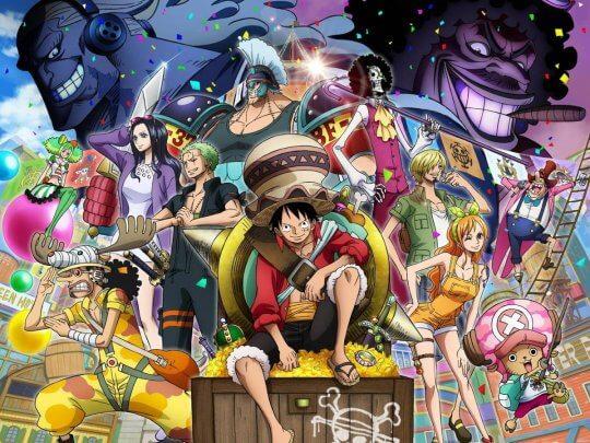 《航海王:奪寶爭霸戰》(One Piece Stampede) 劇場版