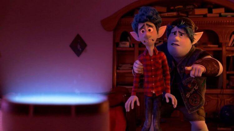 《1/2 的魔法》(Onward) 由克里斯普瑞特 (Chris Pratt) 及湯姆霍蘭德 (Tom Holland) 配音